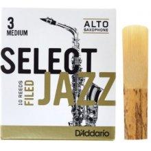 D'Addario Select Jazz Filed Alto 3M