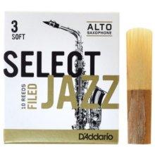 D'Addario Select Jazz Filed Alto 3S