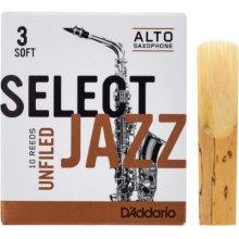 D'Addario Select Jazz Unfiled Alto 3S