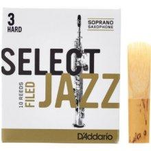 D'Addario Select Jazz Filed Soprano 3H