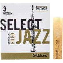 D'Addario Select Jazz Filed Soprano 3M