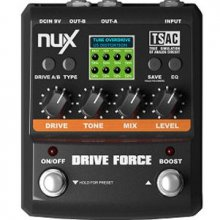NUX Drive Force modeling