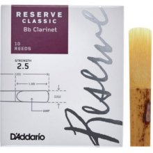 D'Addario Reserve Classic Bb Clarinet 2.5