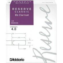 D'Addario Reserve Classic Bb Clarinet 4.0