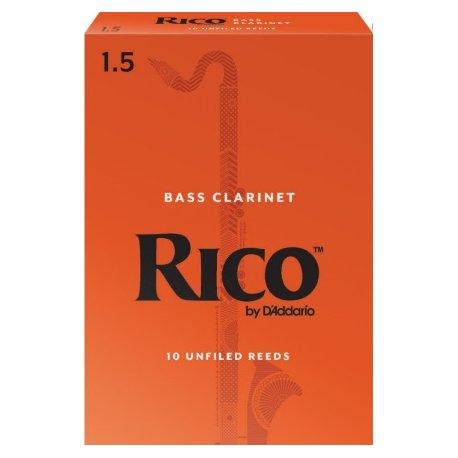 D'Addario Rico Bass Clarinet 1.5