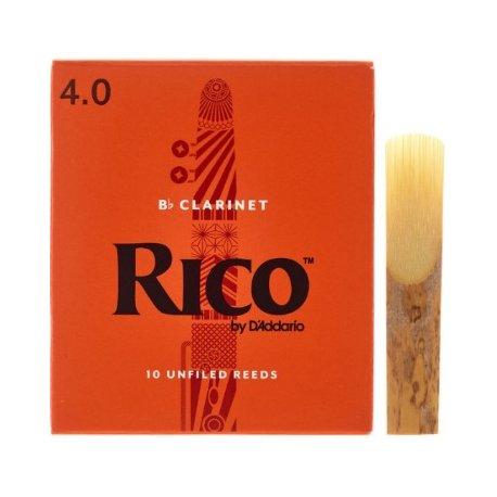 D'Addario Rico Bb Clarinet 4.0