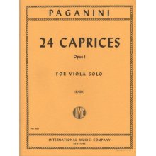 Paganini P. 24 Caprices Op.1 (Raby)