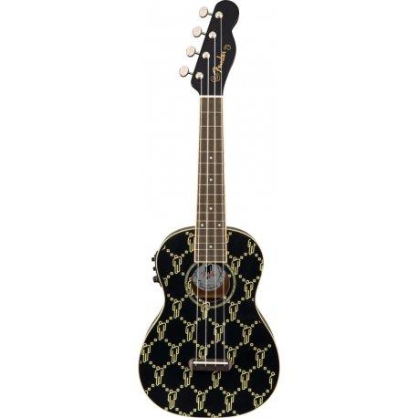 Ukulele Fender Billie Eilish WN Black